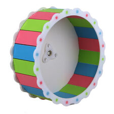 Color Hamster Mouse Rat Mice Exercise Running Spinner Wheel Pet Toy BEST