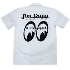 NHRA JIM DUNN Moon Equipped PIT Crew Shirt JOHN HALE Dickies T-Shirt Mooneyes