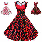 Maggie Tang 50s 60s Vintage Swing Rockabilly Ball Gown Pin up Party Dress 562