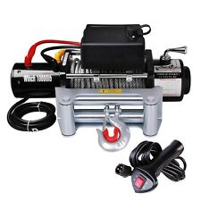 Classic 10000lbs 12V Electric Recovery Winch Truck SUV Wireless Remote Control