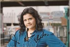 EASTENDERS * NINA WADIA ' ZANIB ' SIGNED 6X4 ACTION PORTRAIT PHOTO+COA