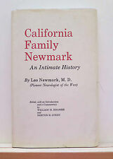 California Family Newmark: An Intimate History 1970 Pioneers Genealogy
