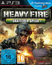 Heavy Fire: Shattered Spear (Sony PlayStation 3, 2013, DVD-Box)
