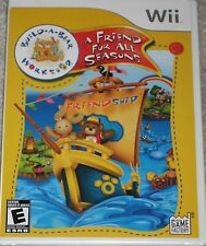 NEW Wii Build-A-Bear Workshop: A Friend Fur All Seasons Factory Sealed