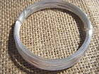 Artistic Craft Hobby Wire 0.4mm 20m Silver Plated 26 Gauge