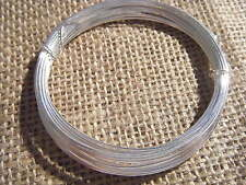 Artistic Craft Hobby Wire 0.8mm 6m Silver Plated 20 Ga