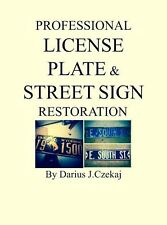 Michigan Painting and Restoring License Plates/Vintage  Signs Booklet