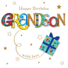 Grandson Happy Birthday Greeting Card By Talking Pictures Cards