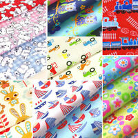 Childrens Fabric Nursery Kids Baby POLYCOTTON Material Boy Girl Owls Dress