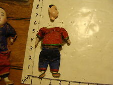 vintage CHINESE DOLL #5 with partial head