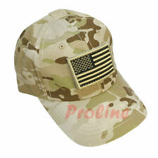 Special Force Tactical Contractor CAP HAT Removable Flag-MULTICAM ARID