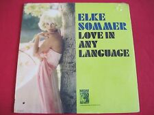 SEALED CHEESECAKE LP - ELKE SOMMER - LOVE IN ANY LANGUAGE - MGM SE-4321