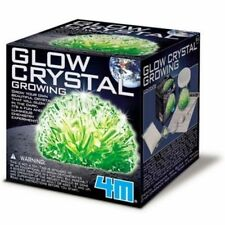 4M Glow Crystal Growing Kit - Grow Your Own Crystal - Kids Science Chemistry