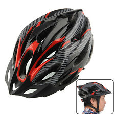 Adults Mens Womens Universal For Mountain Bike Cycling Bicycle Helmet + Visor