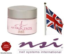 NSI Attraction Acrylic Nail Powder  SHEER PINK  40g  False tips  Brand New Pot