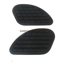 LARGE UNIVERSAL GAS FUEL TANK KNEE PADS SET FOR HARLEY HONDA SUZUKI YAMAHA BUELL
