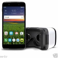 Alcatel IDOL 4 + VR Goggles VR Experience (Cricket GSM Network) -  NEW! BNIB
