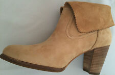 UGG WOMENS Sz 9.5~THAMES~CHESTNUT TAN SUEDE ANKLE BOOT~Discount for spot~1007071