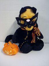 Winnie The Pooh Black Cat Frankenstein Halloween Beanie Plush Disney