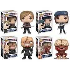 Funko Pop Games: Resident Evil 11752.53.54.55 Set of 4