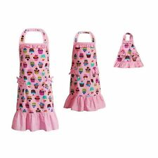 Dollie & Me Girl Mommy and Doll Matching Cupcake Apron Clothes Set American Girl