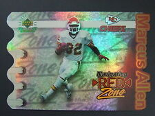 Marcus Allen 1997 UDA Navigating The Red Zone Die Cut Jumbo Chiefs 124/2500