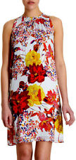 Erdem Sleeveless Floral Print Silk Shift Kiki  Dress 8  UK 12 NWT $1090