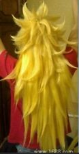 Dragon Ball COS wig New vogue long Yellow Cosplay party Anime wigs