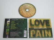SARAH JANE MORRIS/LOVE AND PAIN(FALLEN002) CD DIGIPACK