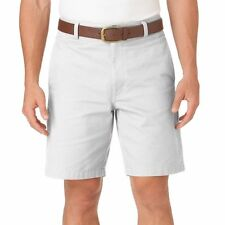 New Chaps by Ralph Lauren Men's Classic-Fit Solid Flat-Front Shorts MSRP $50