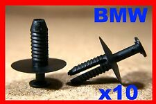 10 BMW 3 series E46 bumper front rear trim fastener push rivet clip