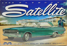 Moebius 1965 Plymouth Satellite, 1/25, New (2015), Factory Sealed Box