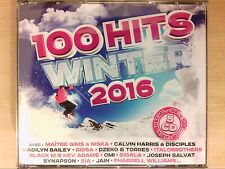 BOITIER 5 CD / 100 HITS WINTER 2016 / NEUF SOUS CELLO