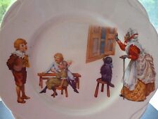 "VINTAGE ROYAL DOULTON ""OLD MOTHER HUBBARD"" PLATE rare backstamp"