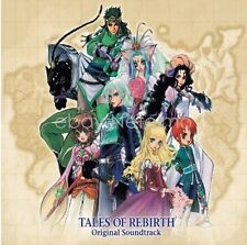 New 0445-8 TALES OF REBIRTH ORIGINAL SOUNDTRACK CD Song Music Anime Game