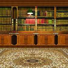 Library 8'x8' CP Backdrop Computer-painted Scenic Background DT-XU-0296