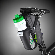 RockBros Cycling Saddle Bag Pannier Bike Seat Bag Tail Storage Bottle Holder