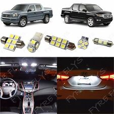 17x White LED lights interior package kit for 2006-2014 Honda Ridgeline HR1W