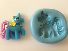 My Little Pony Horse Unicorn Flexible Silicone Mould Sugarcraft Cake Toppers