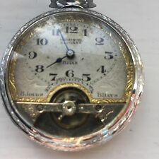 Jagot W Co. Windsor Elegant 8 Day Pocket Watch Swiss Movement