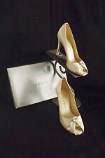 Z553S GRACE $140 CANDLE  JEWEL F94247 SZ 8.5 WEDDING FORMAL DISPLAY SHOES $140