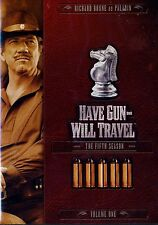 BRAND NEW 3DVD SET // HAVE GUN WILL TRAVEL // SEASON 5  VOLUME 1// RICHARD BOONE