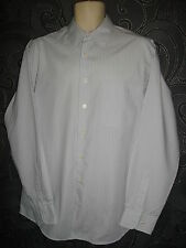 CLASSIC * CANADA * PALE GREY LONG SLEEVED COTTON SHIRT SIZE XL - 16 - 16.5 INS
