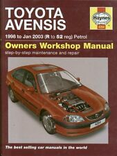 TOYOTA AVENSIS 1.6 1.8 2.0 PETROL SALOON HATCHBACK ESTATE '98-'03 REPAIR MANUAL