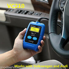 VC210 Car Code Reader Diagnostic Scanner OBD2 Can Reset Airbag for Audi VW Seat