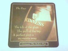 GUINNESS THE POUR  -  Beermat / Coaster