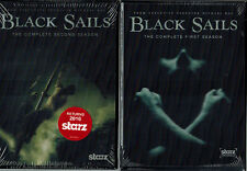 Black Sails: Complete First Second Season 1 2 New DVD  Free Shipping