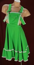 Rockmount Vtg Ranch Wear Overall Square Dancing Dress Size 27 Waist #D2158