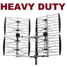 8 BAY HDTV UHF LONG RANGE ULTRA CLEAR DTV HD TV ANTENNA 8BAY OTA ATSC