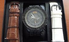Grand Master Black on Black Super Ranger watch Genuine diamonds